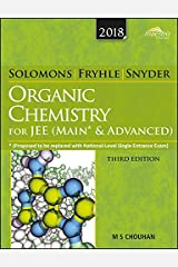 Wiley's Solomons & Fryhle Organic Chemistry (New edition) for JEE (Main & Advanced) Paperback