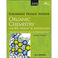 Wiley's Solomons & Fryhle Organic Chemistry (New edition) for JEE (Main & Advanced)
