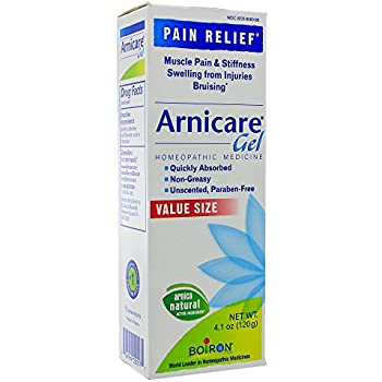 Amazon.com: Hylands Muscle Therapy Gel with Arnica, 3 oz ...