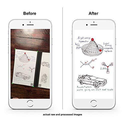 Rocketbook Erasable, Reusable Wirebound Notebook - Letter Size, 2 Pack by Rocketbook (Image #3)