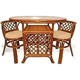 Amazon.com: Rattan - Kitchen & Dining Room Furniture / Furniture ...