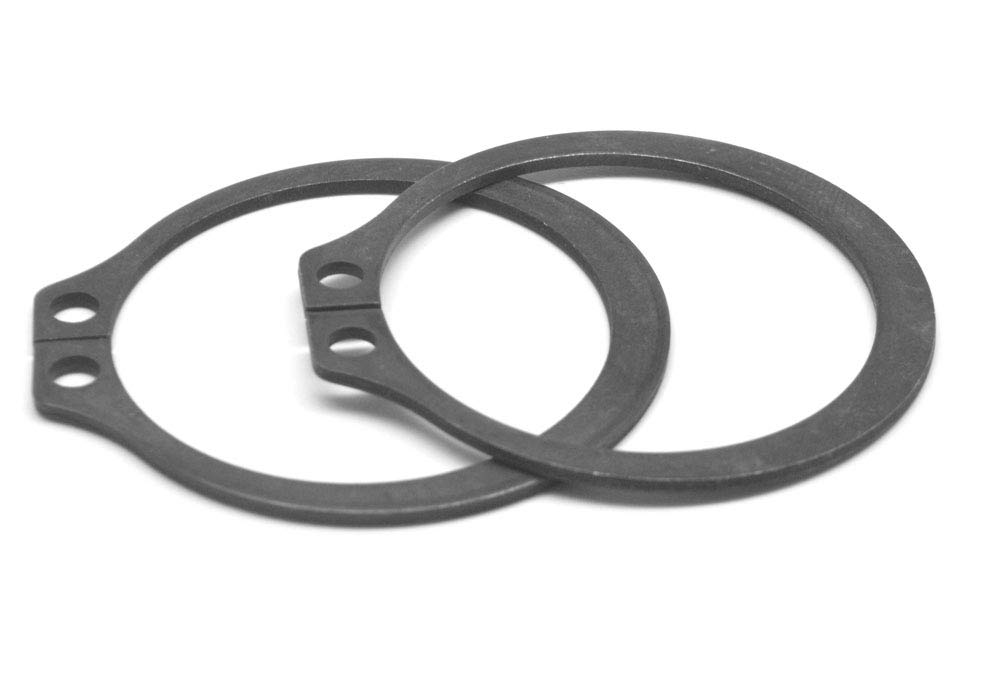 1.812 External Retaining Ring Medium Carbon Steel Black Phosphate Pk 200