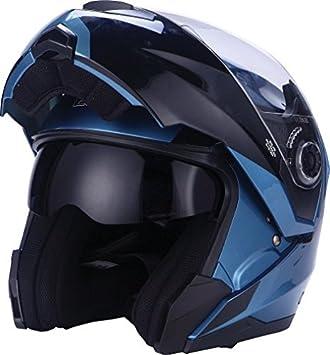 EOLE casco modulable, azul, talla S