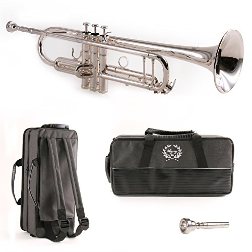 Legacy Silver Plated Intermediate Trumpet TR750S by Legacy