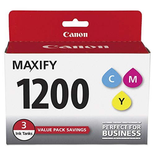 Canon 9232B005 PGI-1200 CMY Value Pack - 3-pack - yellow, cyan, magenta - original - ink tank - for MAXIFY MB2020, MB2320