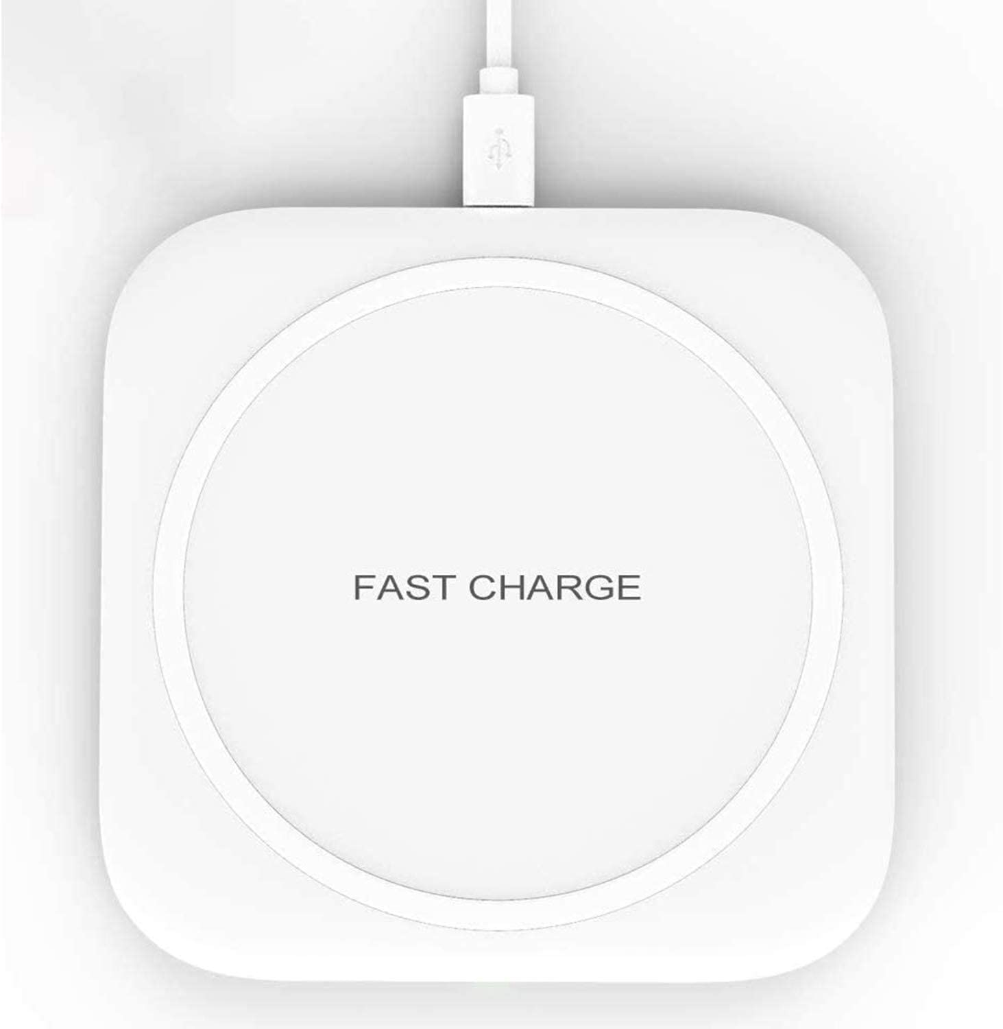 Hoidokly Cargador Inalámbrico Rápido Qi Wireless Charger para iPhone SE 2020/11 Pro/XS/XS Max/XR/X/8/8P, 10W Carga Rápida para Samsung Galaxy S20/S20+/S10/ S10+/S10e/S9/S8/S7/Note 20/10+,Airpods Pro