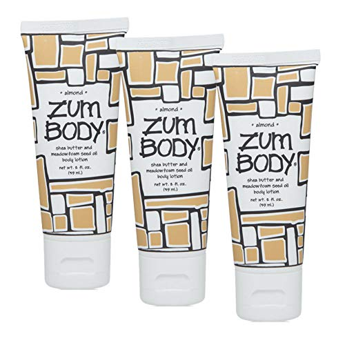 Zum Body Lotion Almond 2 fl oz, 3 Pack ()