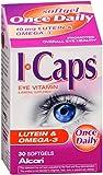 ICAPS Lutein & Omega-3 Softgels 30 Soft Gels (Pack of 12)