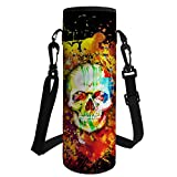 FancyPrint Animals Print Insulated Neoprene Water bottle Holder Great for Stainless Steel and Plastic Bottles