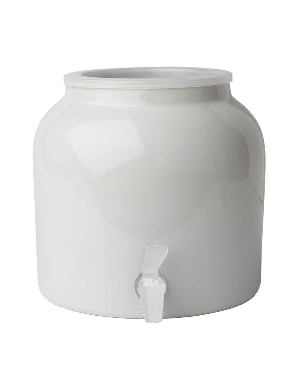 New Wave Enviro Products Porcelain Water Dispenser White (Single), 2.5-Gallon W/Out Lid by New Wave Enviro Products (Image #1)