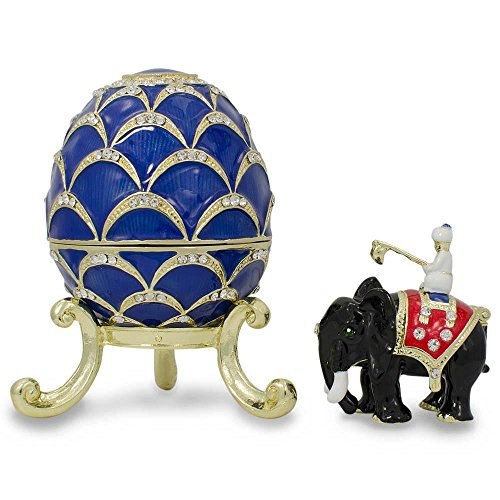 BestPysanky 1900 Pine Cone Royal Russian Egg ()
