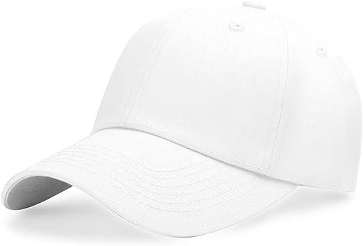 zlhcich Gorra de béisbol Gorra de Color sólido Gorra Personalizada ...