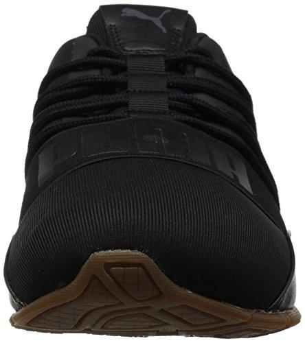 Puma Mænds Celle Regulerer Naturen Tech Sneaker Puma Sort-asfalt O6MGpu