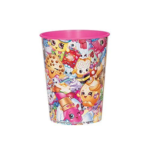 Shopkins 16oz. Plastic Favor Cup (Each) by Unique Industries