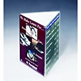 Displays2go 4'' x 9'' Table Menu. Triangle Sign Stand for Restaurant Counter, Set of 50, Clear (TRIFOLD49)