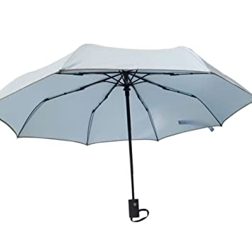 """""""realmente irrompible resistente al viento 8 costillas paraguas de viaje, automática Abrir y"""