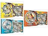 Pokémon TCG Jolteon GX, Flareon GX, and Vaporeon GX Box Special Collection Bundle, 1 of Each