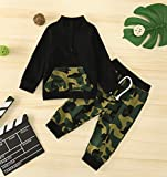 Baby Boy Camouflage Clothes Long Sleeve Sweatsuit