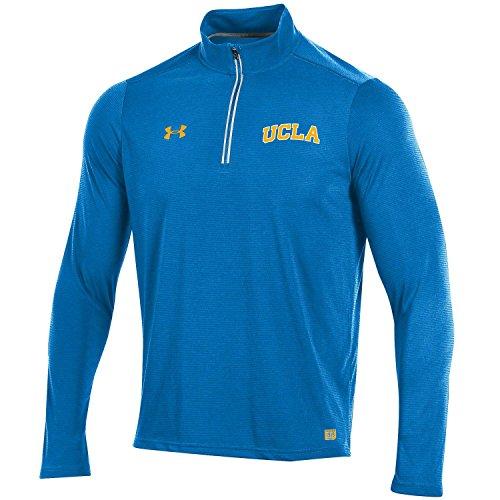 Under Armour NCAA Ucla Bruins Men's Threadborne Lightweight 1/4 Zip Apparel, Small, Blue (Light Ucla)