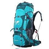 Backpack 70L, Outdoor Hiking Climbing Camping Backpack Professional Waterproof Mountaineering Bag Trekking Rucksack Large Travel Daypack