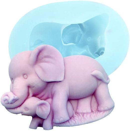 Elephant Silicone Mould Cake Decorating Sugarcraft Mold Food Safe