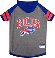 NFL HOODIE TEE for DOGS & CATS. | Football Dog Hoody Tee Shirt available in all 32 NFL Teams! | Cuttest Sp