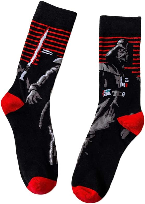 1 par de calcetines Star Wars, calcetines de algodón, Star ...