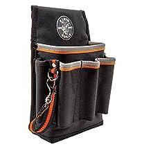 Klein Tools 5241 Tradesman Pro 6-Pocket Tool Pouch
