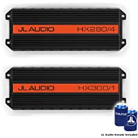 JL Audio HX280/4 and HX300/1 amplifier package