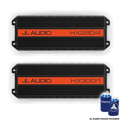 JL Audio HX280/4 and HX300/1 Amplifier Package