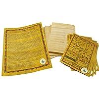 Manualidades Juego de Egipto 10 Papiro egipcio de 4x6 pulgadas (10x15 cm) - Alfabetos antiguos Papiro Hojas-Papiros para proyectos de arte, libros de recortes e historia escolar - Ayuda de enseñanza ideal Papel de desplazamiento