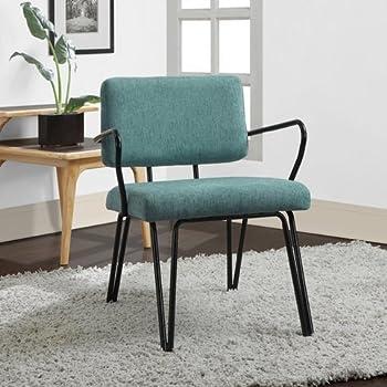 Amazon Com Palm Springs Aqua Blue Retro Upholstered