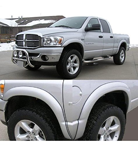 Premium Street Fender Flares Dodge Ram 03-09 2500 3500 All New Paintable