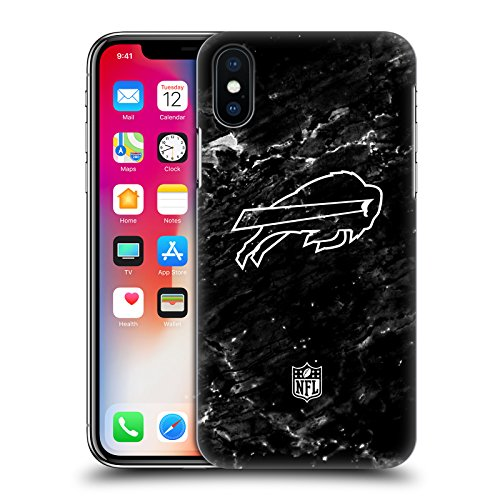 Official NFL Marble 2017/18 Buffalo Bills Hard Back Case for Apple iPhone (Buffalo Case)
