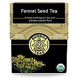 Organic Fennel Seed Tea - Kosher, Caffeine-Free, GMO-Free - 18 Bleach-Free Tea Bags