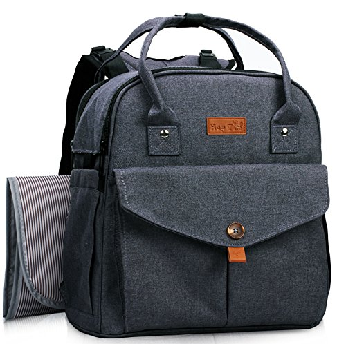 HapTim Diaper Bag Backpack Multi-Function Waterproof Travel