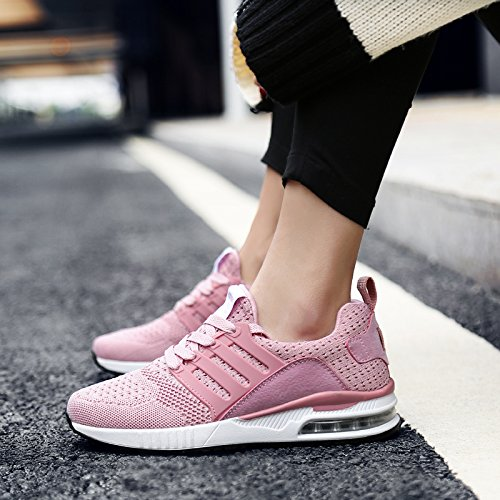 Cushioning Pink Sneakers Women Running Shoes Sports Shoes for Jogging Trainers Green