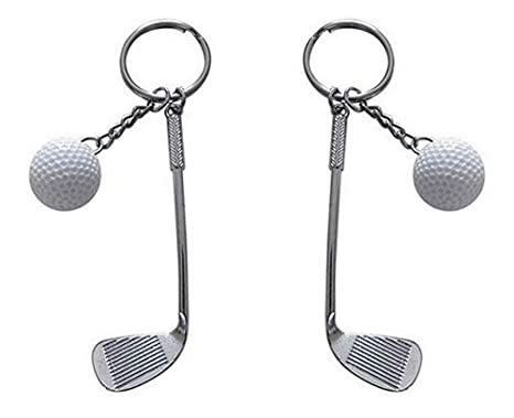 Set de 2 llavero, joyas de bolsa, Club y pelota de Golf ...