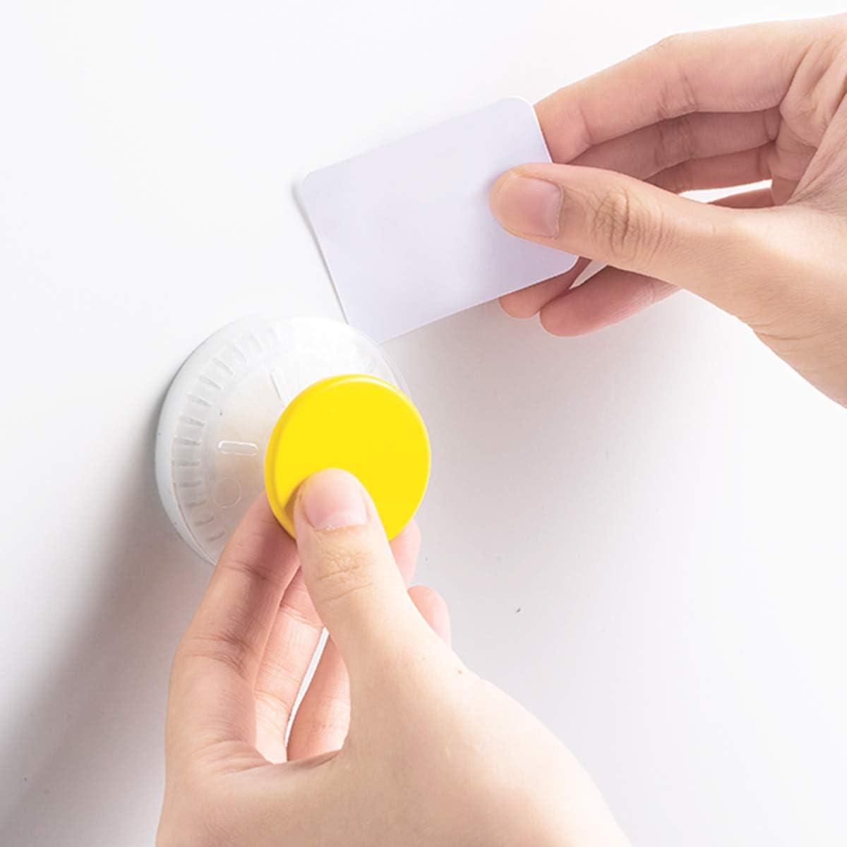 in grado di adattarsi a vari ambienti come cucina o bagno. realizzati in gel TPU di alta qualit/à e plastica resistente con olio e impermeabile Eono UMI Set di 6 ganci a ventosa senza fori