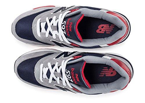 Scarpe Uomo Aab Balance New 597 grey navy Running xq8gnRCw