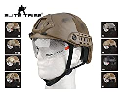 Paintball Equipment FAST Helmet With Protective Goggle MH ABS Tactical Military Airsoft Helmet