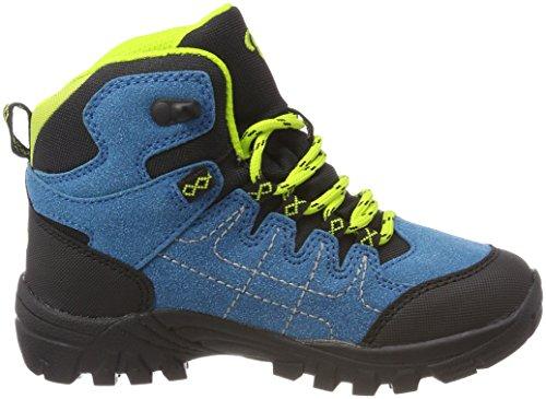 Bruetting Unisex-Kinder Mount Shasta Kids H Trekking-& Wanderstiefel Blau (Petrol/Schwarz/Lemon)