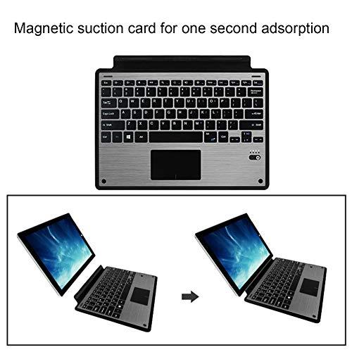 E.I.H. Keyboard Universal Wireless Keyboard High Sensitivity for Surface Pro3 Pro4 Pro5 Universal Detachable Keyboard Cover