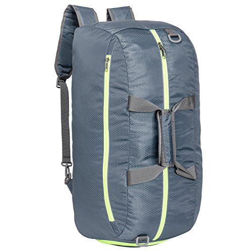 Cheap Riavika Travel Duffel Bag Backpack Luggage Gym Sports Bag with Shoe Compartment for Men & Women-Greyish Green