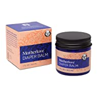 Motherlove Diaper Balm (1 oz.) Cloth Diaper Safe Herbal Ointment – Free of Zinc Oxide & Petroleum – Soothes Baby's Irritated Bottom – Formerly Known as Diaper Rash & Thrush