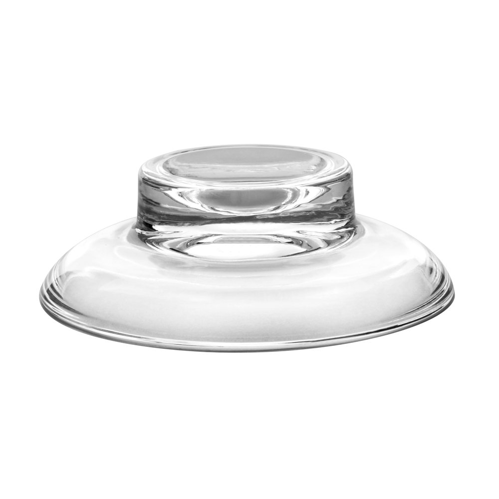 Frosted 2X Frosted Glass Soap Dish Replacement Spare For Bathroom Accessory