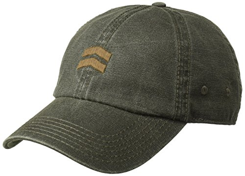 A. Kurtz Men's Coated Baseball Cap, Olive drab, OSFA ()