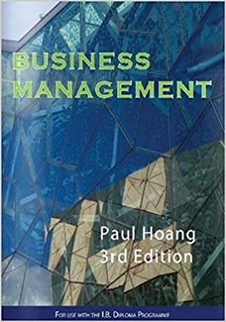 Business Management 3rd Paul Hoang 9781921917240 Amazon Com Books