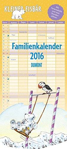 Kleiner Eisbär Familienkalender 2016