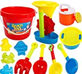 Kid's Beach Sand Toys Baths Pools Set 13PCS